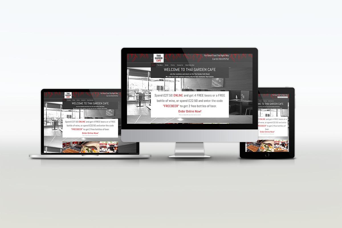 Thai Garden Cafe Website