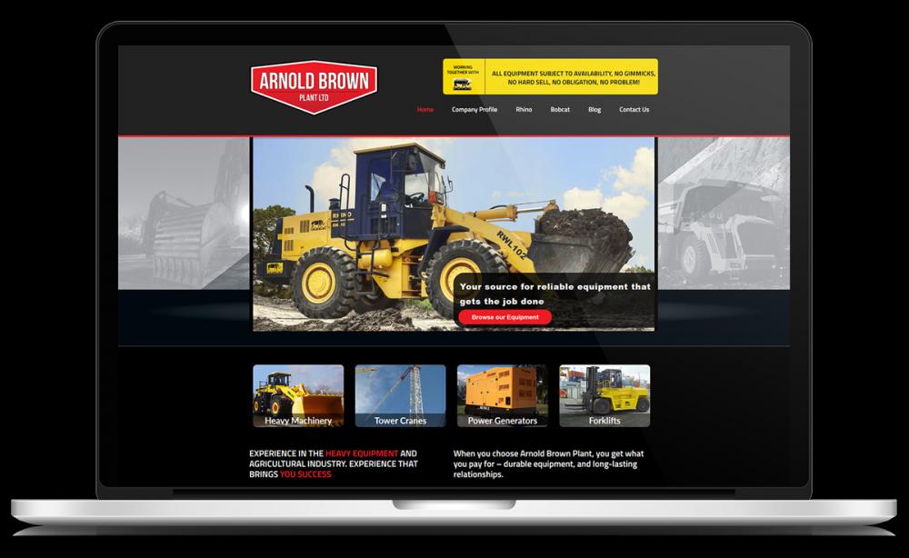 arnold-brown-plant-website-design