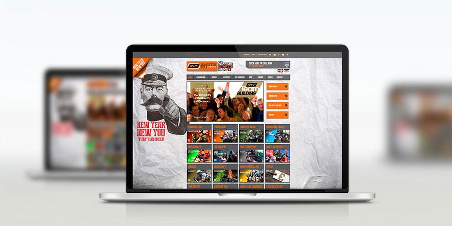 NPF Bassettspole Responsive Website Design