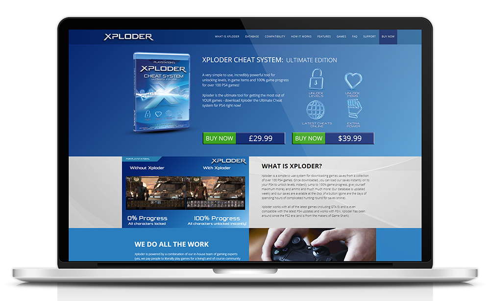 xploder-ecommerce-website