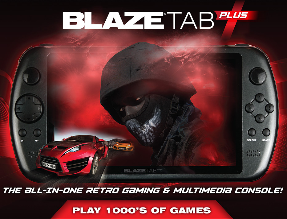 BlazeTab Plus Packaging