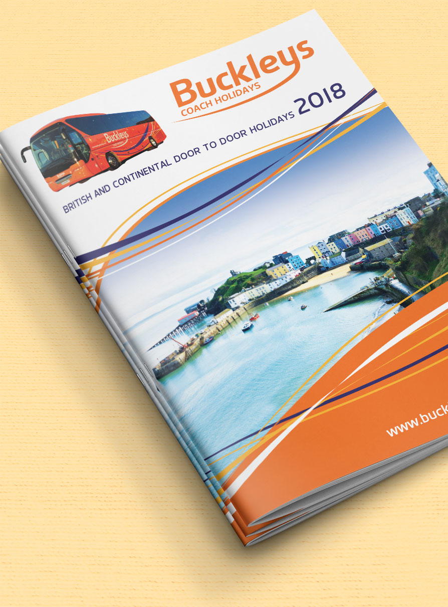 Buckleys 2018 Holiday Brochure Front Cover