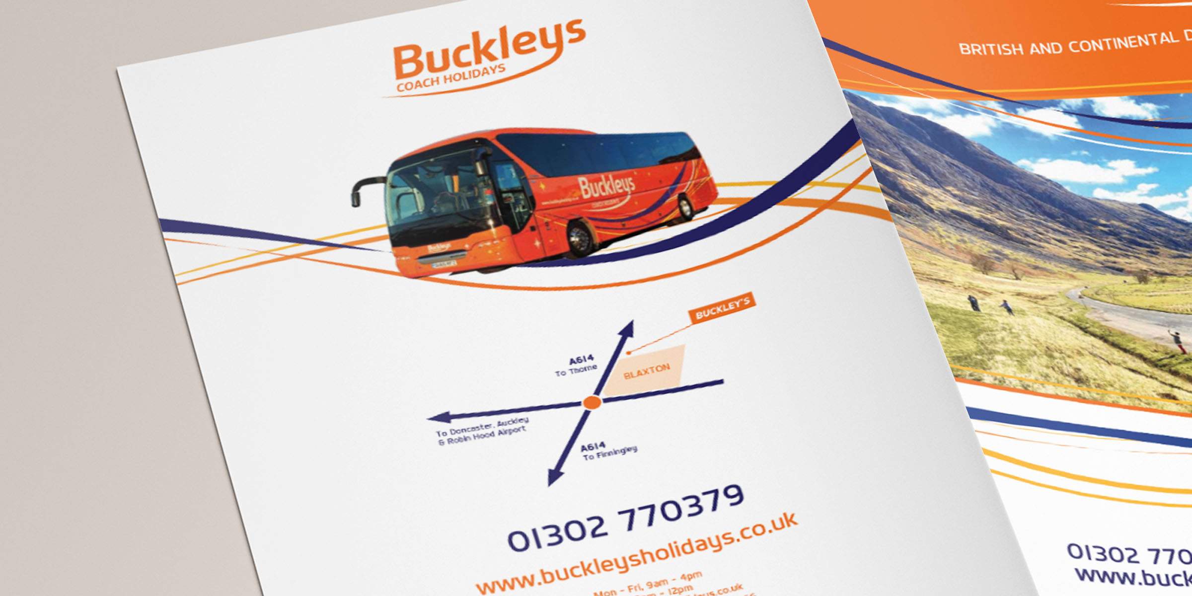 Buckleys Coach Holidays Rear Cover