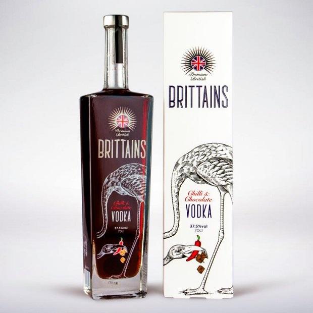 Brittains Premium Chilli Chocolate Vodka