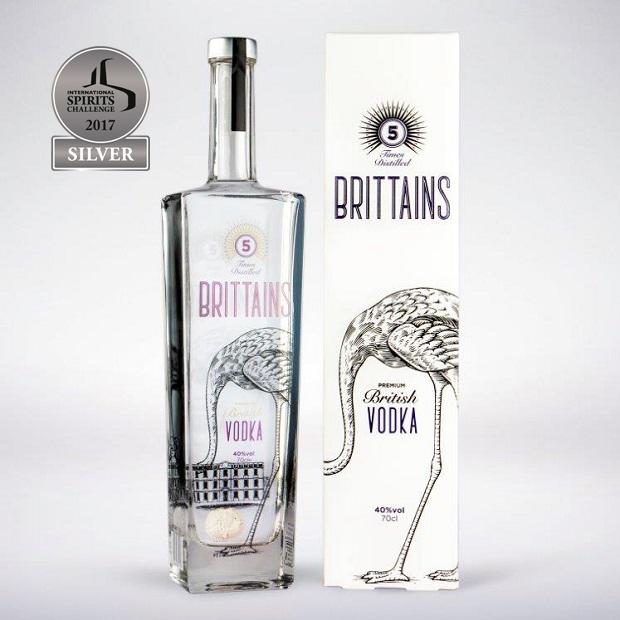 Brittains Premium 5x Distilled Vodka