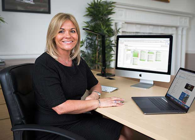 Suzanne Brown - Sales Manager