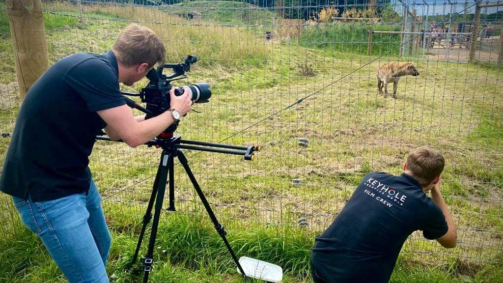 Yorkshire Wildlife Park TV Advert Filming